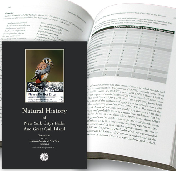 Book: Natural History of New York City's Parks and Great Gull Island