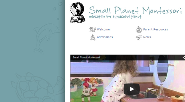 Small Planet Montessori Website